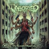 Pochette The Necrotic Manifesto par Aborted
