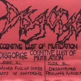 Pochette Cognitive Lust of Mutilation