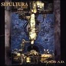 Pochette Chaos A.D. par Sepultura