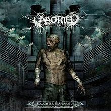 Pochette Slaughter & Apparatus: A Methodical Overture par Aborted