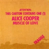 Pochette Muscle of Love par Alice Cooper