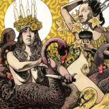 Pochette Yellow & Green par Baroness