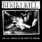 Pochette First Two Records par Bikini Kill
