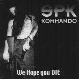 Pochette Spk Kommando (split avec Antaeus, Eternal Majesty, Deviant