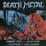 Pochette Death Metal (split avec Hellhammer, Running Wild, Dark Avenger)