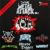Metal Attack Vol. 1 (split avec Grave Digger, Running Wild, Warrant, Sinner, Celtic Frost)