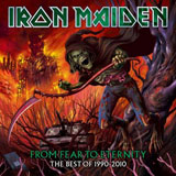 Pochette From Fear To Eternity, The Best Of 1990-2010 par Iron Maiden