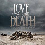Pochette Between Here & Lost par Love And Death