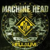 Pochette Hellalive par Machine Head