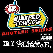 Pochette Warped Tour Bootleg Series