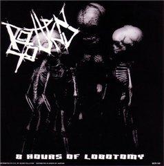 Pochette 8 Hours of Lobotomy (Split with Unholy Grave)