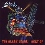 Pochette Ten Black Years - Best Of