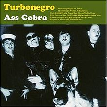 Pochette Ass Cobra par Turbonegro