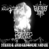 Pochette Nuklear Metalkoholik Attack (split avec Hell Torment, Guerra Total)