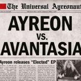 Pochette Elected (avec Ayreon)