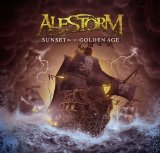 Pochette Sunset On The Golden Age par Alestorm