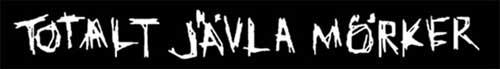 logo Totalt Javla Morker