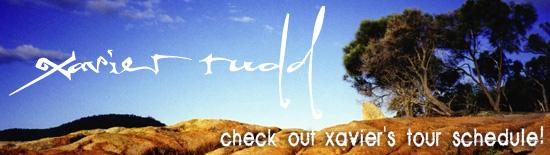 logo Xavier Rudd
