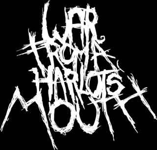 logo War From A Harlots Mouth