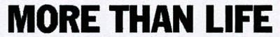 logo More Than Life