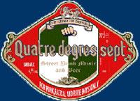 logo Quatre Degrés Sept