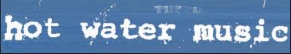 logo Hot Water Music