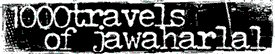 logo 1000 Travels of Jawaharlal