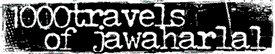 logo 1000 Travels of Jawaharlal