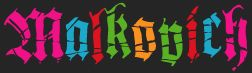 logo Malkovich