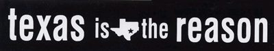 logo Texas Is The Reason