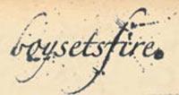 logo BoySetsFire