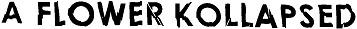 logo A Flower Kollapsed