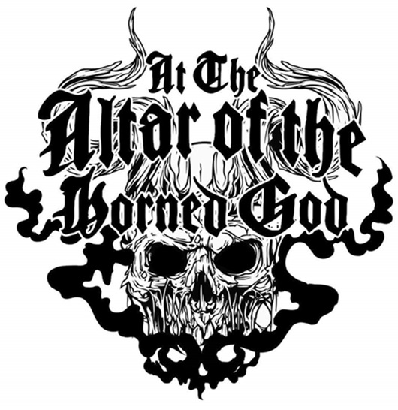logo At The Altar Of The Horned God