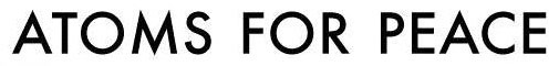 logo Atoms For Peace