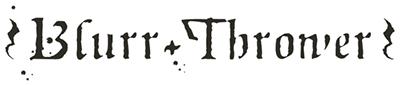 logo Blurr Thrower