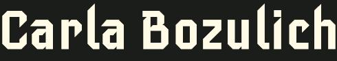 logo Carla Bozulich