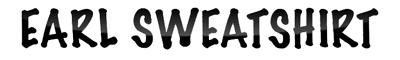 logo Earl Sweatshirt
