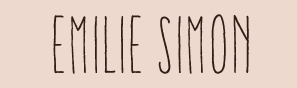 logo Emilie Simon