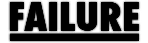 logo Failure