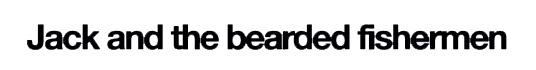 logo Jack And The Bearded Fishermen
