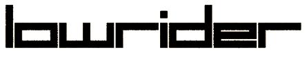 logo Lowrider
