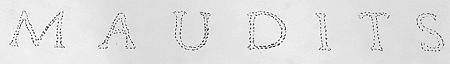 logo Maudits