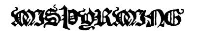 logo Misþyrming