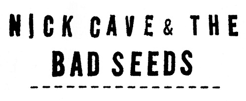 logo Nick Cave And The Bad Seeds