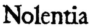 logo Nolentia