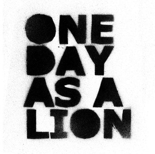 logo One Day As A Lion