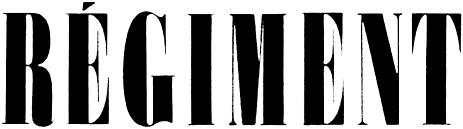 logo Régiment