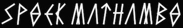 logo Spoek Mathambo