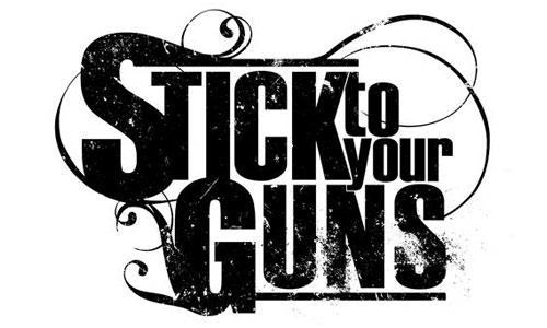 logo Stick To Your Guns