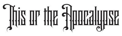 logo This Or The Apocalypse